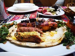 Lovely Middle Eastern food