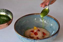 Wortel, karnemelk en lavas