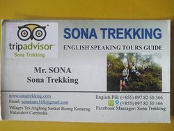 We can offer group to join for overnight Trekking,at The Natoinal Park area. From one day trekking,up to 8day trekking.