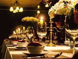 the Gala dinner room