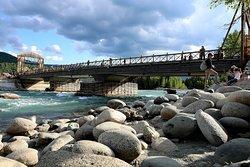 Wooden Bridge of Hemu Village