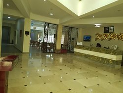 Heritage continental hotel front office.  Welcome to a place like home.  Where we satisfy our guests with exceptional services.