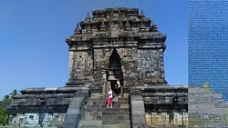 Mendhut temple is part of Borobudur world heritage sites. Every year this temple as start point of Vesak day celebration.