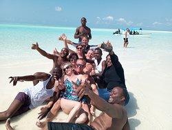 Snorkelling at beautiful island memba