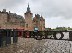 Amsterdam Muiden Castle ~在Muiderslot 售票位置可以有距離的拍幾張照片