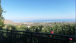 View from our room (#702) overlooking Aegean Sea.