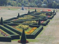 The parterre gardens