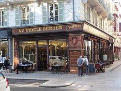 """Brasserie """"Au fidèle berger"""" à Vichy"""