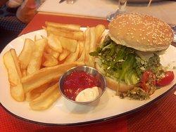 Burger falafel, une belle découverte !