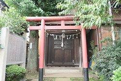 善福寺公園のご近所にあった大和市神社の祠