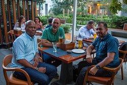 Dostlarla səs-küydən uzaq bir yerdə gözəl axşam keçimək hər zaman əla fikirdir! ~ It is always a good idea to spend a nice eve with friends away from daily hustle! HARBOUR Indian Restaurant & Pub 📍 Port Baku, 153 Neftchilar ave., Baku, Azerbaijan ☎+994(12)4048205 📱 +994(50)5465500