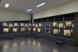 Vue de la salle d'exposition permanente