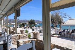 Restaurant après la plage...