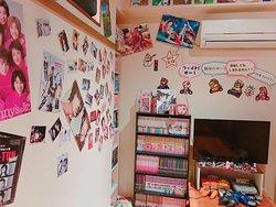 店内奥にある秘密の部屋。。。 個室使いも出来るので盛り上がること間違いなし!