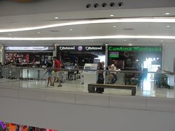 A Variation of foods can be found at the food mall.