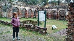ruinas del exterior del convento