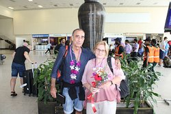 mr. enrique & wife from spain  17 days round tour srilanka with ipha lanka tours