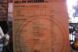 Mellow Mushroom Menu
