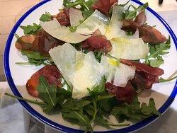 Bresaola - shaved parmigiano & rocket salad