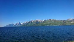 ジャクソンレイクとティトン山脈