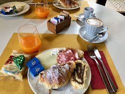 Café da manhã do Sovana Hotel & Resort