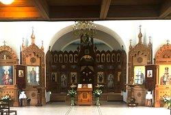 Inside the Church of St. Nicholas the Wonderworker   PAVLOVSK