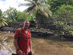 Outside the walls of Nan Madol