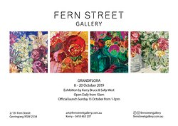 Join us at Fern Street Gallery 7-20 October 2019 for our Grandiflora Exhibition in Gerringong.