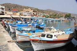 Elounda harbour