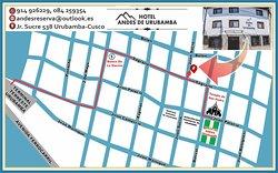 Mapa de Ubicación.  Urubamba.