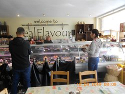 the wonderful counter with marvellous produce