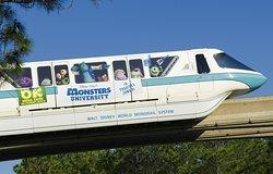 Walt Disney World Monorail Transportation System  www.MagicalTraveling.com