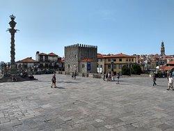 Very nice square with beautiful views