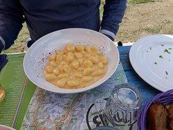 gnocchi al formaggio