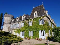 Château de Lalande Perigord côté tour