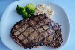 Steaks is one of their specialties