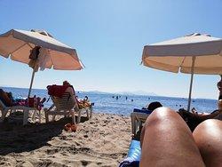 Spiaggia ampia