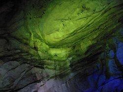 Inside the Borra Caves