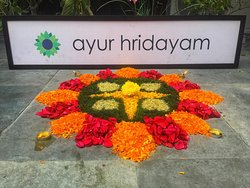 Onam celebration at ayur hridayam