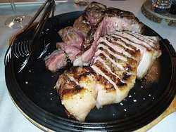 T-bone steak, most delicious meat i ever eat