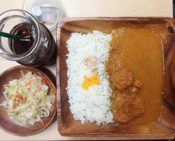 フランスカレーセット French curry menu