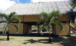 Nachbau des Hauses von Gauguin