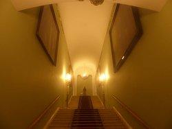 Treppenhaus in den ersten Stock