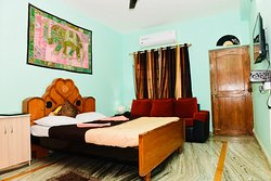 Premium double room with A/C and TV