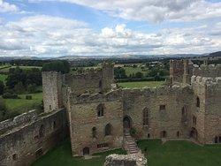 Ludlow Castle ruins