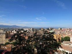 Vue sur la ville depuis le Castello.