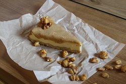 Toffee cheescake