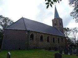 Achterzijde kerk