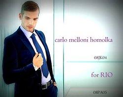 RIO...classic mens suit 52...model dino bubicic