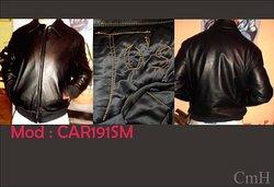 CAR191   leather jacket